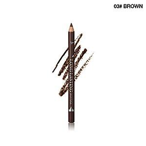 Beito 1 UNID Impermeable Lápices de Cejas Microblading Ceja Pluma Duradera A Prueba de Ojos Maquillaje Pro Eyeliner Eyebrow Pen(03 Brown)