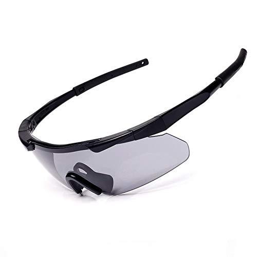 AmDxD PC Feldspiel Schießbrille Arbeitsschutzbrille Sicherheitsbrillen Radsportbrille für Motorrad...