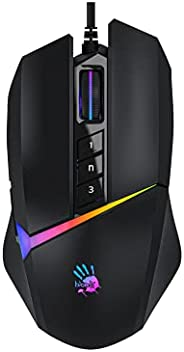 Bloody W60 Max Activated Gaming mouse with 10,000 CPI USB Activated, BC3332-A 10K Sensor, 2000 Hz Report Rate,