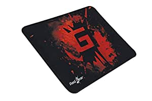 Redgear MP44 Speed-Type Gaming Mousepad (Black and Red)