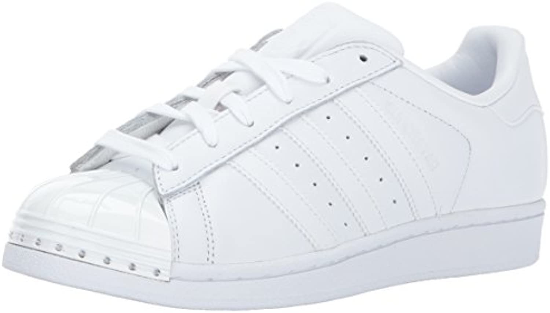 adidas originaux  's superstar metal toe w patiner blanc chaussure, blanc / blanc patiner / noir, 10 de moyenne - nous 321740