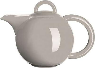 ASA 92041054Moa Théière en porcelaine, gris, 26x 21x 20cm