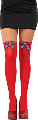 Rubie's Supergirl Strumpfhose für Damen