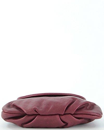 histoireDaccessoires - Pochette Pelle Donna - PO098223GE-Ornella BordeauxBordeaux