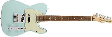 Fender Deluxe Nashville Tele Electric Guitar (Daphne Blue - Pau Ferro Fingerboard)