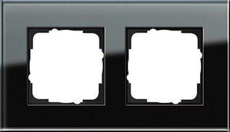 ahmen 2-Fach Esprit Glas, schwarz ()