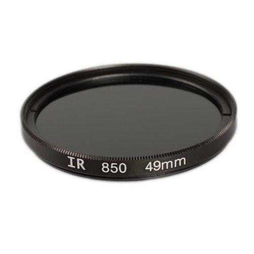 Ares Foto IR Infrarot Filter 49 mm Infrarotfilter IR850 f. alle Filtergewinde mit 49mm Ø