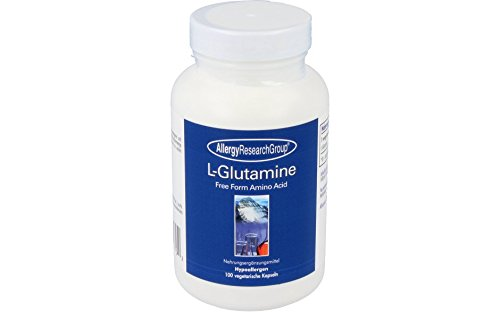 Allergy Research Group - L-Glutamine 500 mg - 100 vcaps -