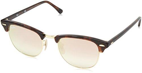 Ray-Ban Unisex Sonnenbrille Rb 3016 Mehrfarbig (Gestell: rot (havana),Gläser: kupferverlauf 990/7O) Medium (Herstellergröße: 51)