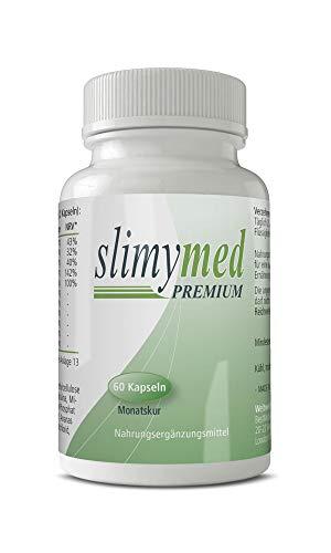 SLIMYMED Premium Kapseln mit grüner Tee Extrakt |...