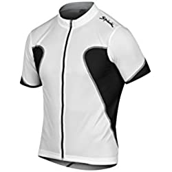Spiuk Anatomic - Maillot M/C para hombre, color blanco, talla M
