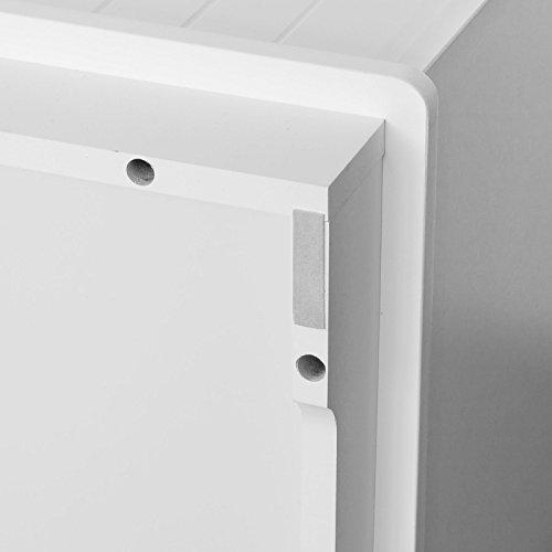 SoBuy® Spielzeugkiste, Spieltruhe, Sitzbank mit Sitzkissen, FSR30-W -