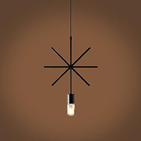 BBSLT Ferro lampadario geometrica , b