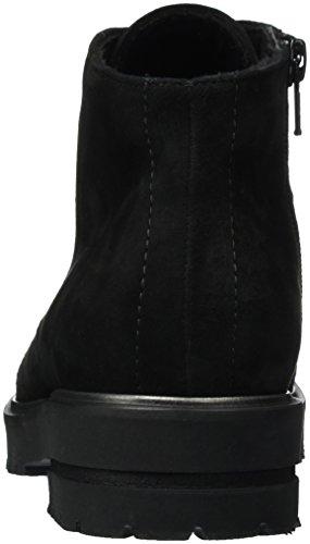 Semler Damen Elena Biker Boots Schwarz (Schwarz)