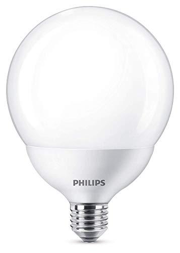 Philips Bombilla LED Globo E27, 18W Equivalentes a 120 W en Incandescencia, 2000 lúmenes, Luz Blanca Cálida