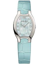 Ebel Women's Blue Leather Band Steel Case S. Sapphire Quartz Watch 1216248