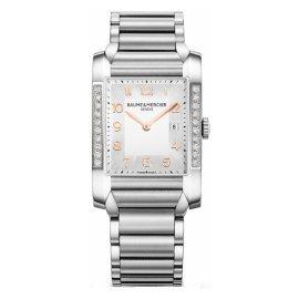 Baume & Mercier 10023 - Reloj de pulsera hombre, acero inoxidable