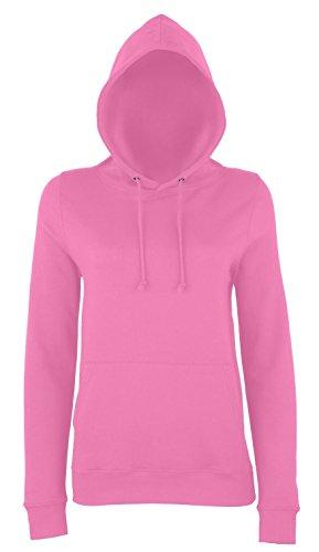 Frauen-College Style Hoodie - 25 Farben und 6 Größen erhältlich Candyfloss Pink