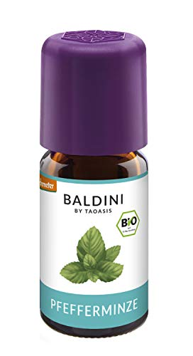 zöl BIO, 100% naturreines ätherisches BIO Pfefferminz Öl, Bio Aroma, 5 ml - auch China Öl genannt ()