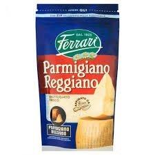 Parmigiano Reggiano 300g fresco frotado D O P Queso parmesano queso original Queso rallado - Queso rallado 300g Parmigiano Reggiano D.O.P. Queso parmesano original - Queso duro de Italia de 24 meses. Leche de vaca, min. 32 % de grasa en extracto seco...
