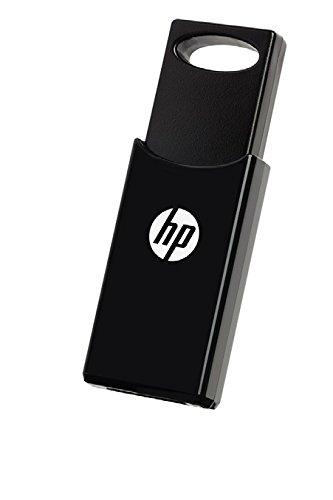 HP v212w USB-Flash-Laufwerk 64 GB USB Typ A 2.0 schwarz - USB-Flash-Laufwerke (64 GB, USB Type-A, 2.0, 14 MB/s, Tasche, schwarz) -