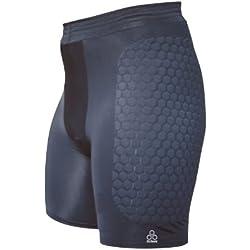 Mcdavid HexPad 724 - Pantalones de fútbol para hombre, tamaño M, color negro