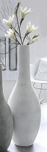 Bodenvase Alassio creme matt H. 115 cm