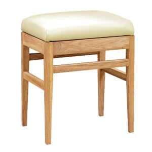 Brooklyn Solid Oak Dressing Table Stool ~ FREE DELIVERY
