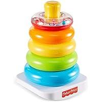 Fisher-Price Pirámide balanceante, juguete para bebé +6 meses (Mattel FHC92)