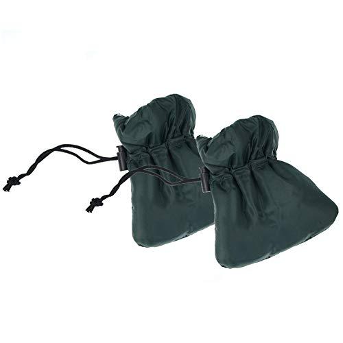LNIMIKIY Wasserhahn-Handschuh, Frostschutz, für draußen, Nylon, isoliert, für den Garten, draußen, Hahnabdeckung, Winter, dick, 2 Stück - Nylon-isolierte Jacke