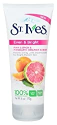 St Ives Scrub Even & Bright 6oz Pink Lemon - Orange (2 Pack)