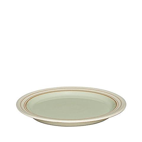 Denby - 22,5 cm-Verger Heritage Assiette pour Dessert et salade Vert