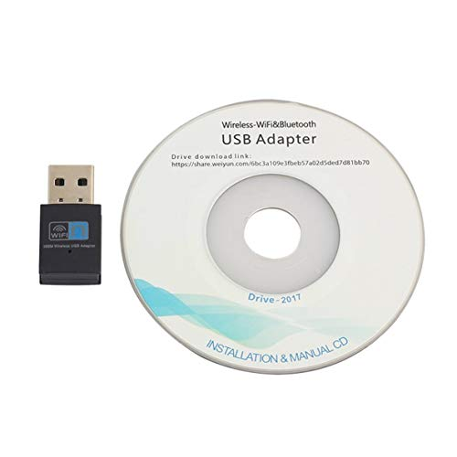 Noradtjcca 300 Mbit/s Mini-USB2.0-WLAN-Adapter WLAN-Dongle-WLAN-Netzwerkkarte 802.11n / g/b WLAN-LAN-Adapter für Laptop-PC -