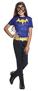 DC Comics - Disfraz de Batgirl oficial para niña, infantil 5-6 años (Rubie