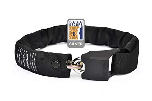 HipLok V1.5 Candado cinturón, Unisex Adulto, Negro, S