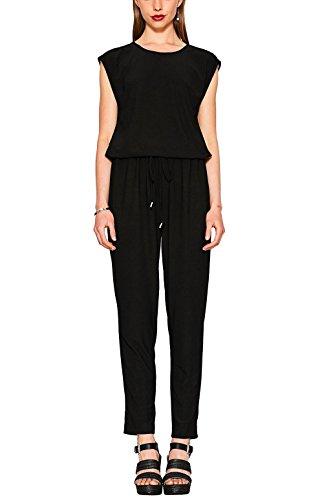 ESPRIT Damen Jumpsuit 077EE1L003, Schwarz (Black 001), X-Small