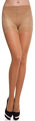 Merry Style Collant Sous-vêtement Minceur Gainant Push Up Femme MS 128 40  DEN ( a4eff3cfcb10