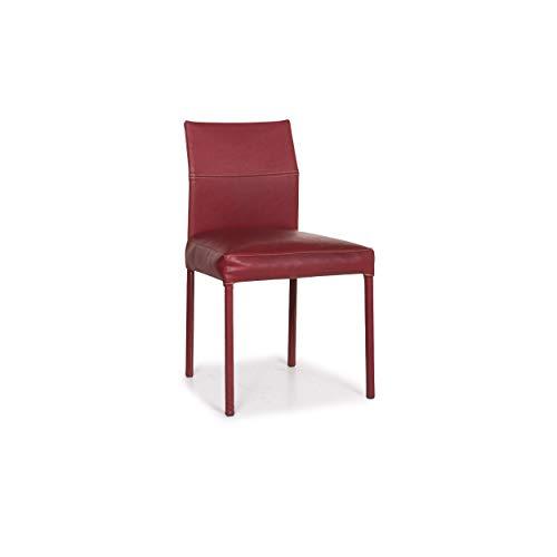 KFF Texas Leder Stuhl Rot #12335