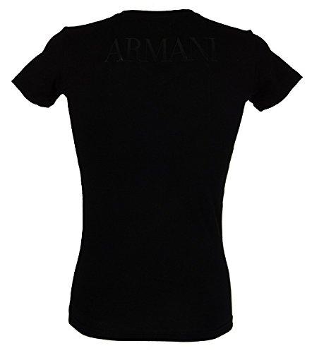EMPORIO ARMANI T-Shirt Shirt V-Ausschnitt 110810 6A516 00020 nero HW16 Nero
