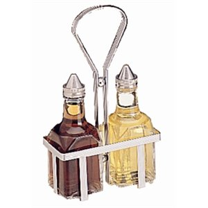 Cruet Rack Holds two 5oz jars (not included).