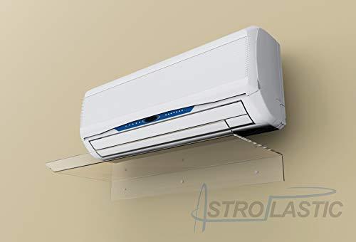 Deflettore deviatore aria per condizionatori split in plexiglass L 80 cm