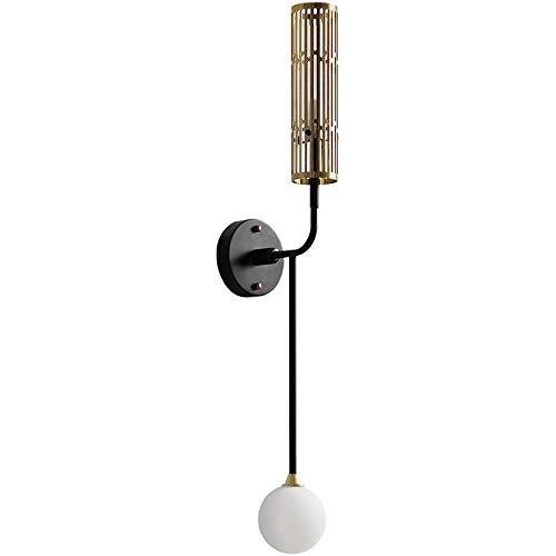 Nordic Creative Double Head Appliques Salon Décoration Couloir chambre Lampe Home Deco Or appliques murales Luminaire