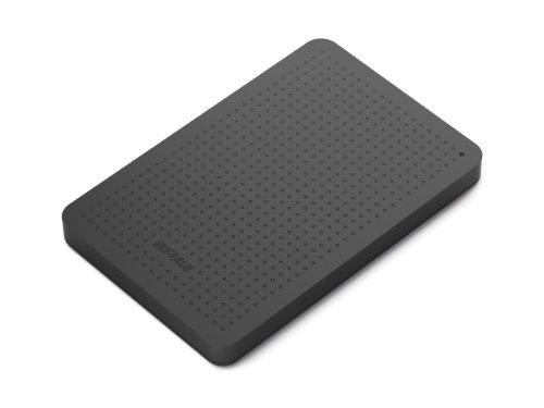 Buffalo MiniStation HD-PCF1.0U3BB-EU 1TB externe Festplatte (6,4 cm (2,5 Zoll) 5400 rpm, 8MB Cache, USB 3.0) schwarz