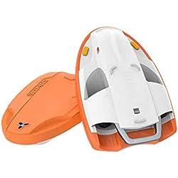 WXX Planche de Surf électrique Adulte, Planche de Surf Aquatique, Planche de Natation électrique, Natation assistée, Natation, Utilisation Adulte et Adulte,Orange