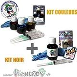 Kit encre-pack Kits tinta color + negro Epson T066T067