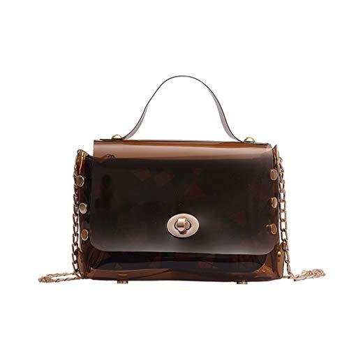 Mitlfuny handbemalte Ledertasche, Schultertasche, Geschenk, Handgefertigte Tasche,Frauen Transparent Messenger Bag Einfache Mode Umhängetasche Small Square Bag
