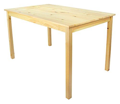 Tavolo da pranzo Set: tavolo di pino e 4 sedie legno naturale ...