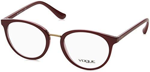 Vogue - VO 5167, Rund, Propionat, Damenbrillen, BURGUNDY(2555), 52/20/140