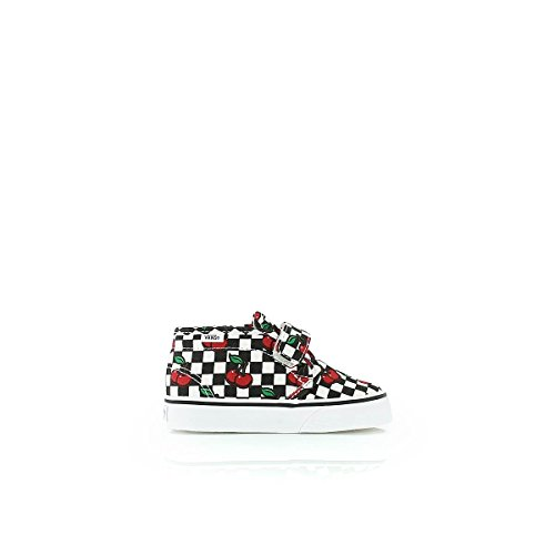 VANS Chaussures Enfants - T CHUKKA V - cherry checker Black/White