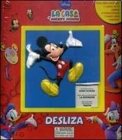 La casa de Mickey Mouse. Desliza/Mickey Mouse Clubhouse Sliding Puzzle Book por Valerie Mcleod